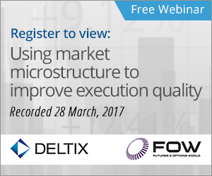 Register to view webinar - Using market microstructure to improve execution quality Recorded 28 March, 2017