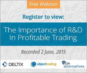 Register to view webinar: The Importance of R&D In Profitable Trading